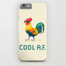 Cool Rooster iPhone Case
