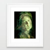 cracked Framed Art Prints featuring Cracked by Amanda Letterman