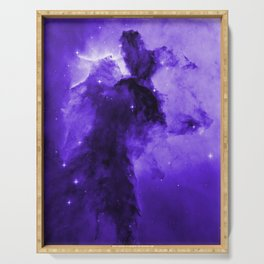 Eagle Nebula Ultraviolet Serving Tray