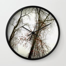 Tangled Vines Wall Clock