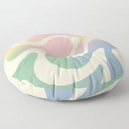 Simple Liquid Pattern Floor Pillow