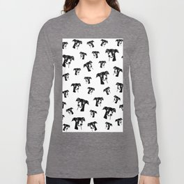 GIFTS AT CHRISTMAS FOR GREYHOUND DOG LOVERS ,GIFTS FROM MONOFACES FOR YOU IN 2020 Long Sleeve T-shirt