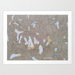 mess. Art Print