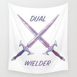 Dual Wielder Wall Tapestry