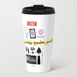 Dexter Morgan VS the Dark Passenger Travel Mug