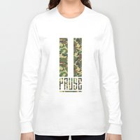 camo Long Sleeve T-shirts featuring PAUSE – Camo by PAUSE