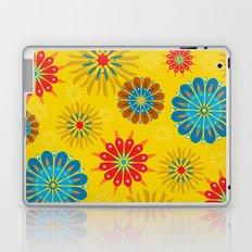 Psycho Flower Gold Laptop & iPad Skin