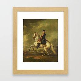 David Morier 1705 -70 John Manners, Marquess of Granby 1721-1770 c.1760 Framed Art Print