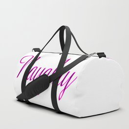 Exclusive*** Naughty Pink Neon Duffle Bag
