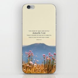 Jeremiah 29:11 iPhone Skin