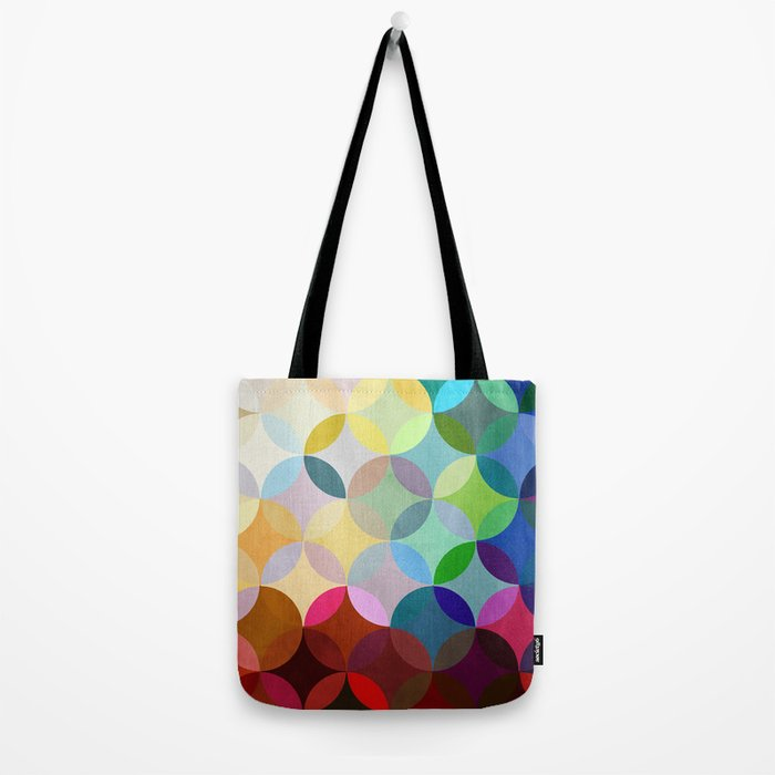 Circular Motion Tote Bag