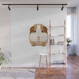 Guinea Pig I Love My Rodent Wheek Gift Idea Wall Mural