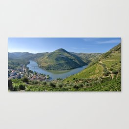 The Vale do Douro at Pinhao, Portugal Canvas Print