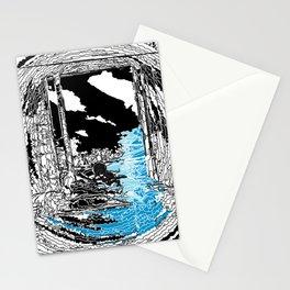 """Santorini & Parkour Dreams"" Stationery Cards"