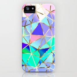 Rainbow Geometric pattern #6 iPhone Case