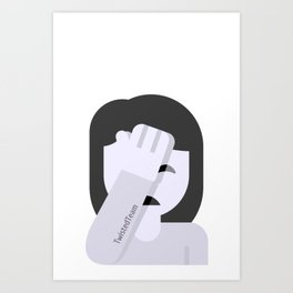 The Skeptic Art Print
