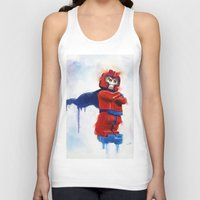magneto Tank Tops featuring Magneto Lego by Toys 'R' Art