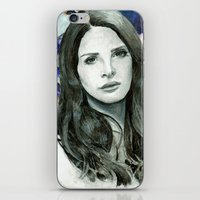 ultraviolence iPhone & iPod Skins featuring ULTRAVIOLENCE by Jethro Lacson