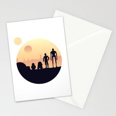 starwar droids Stationery Cards