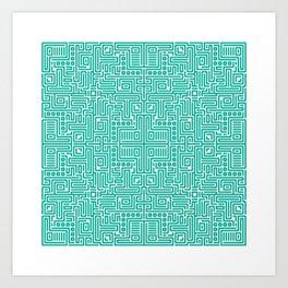 symmetry 5 Art Print