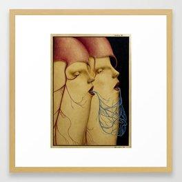 Wunderkammer Tav.7 (The Sisters) Framed Art Print