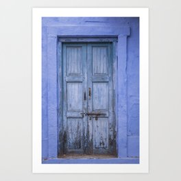 Doors Of India IV Art Print