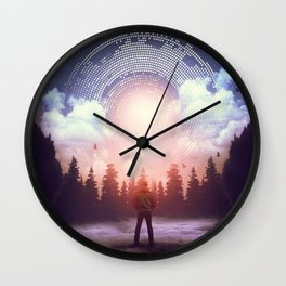 Waiting for the Sun to Rise Wall Clock