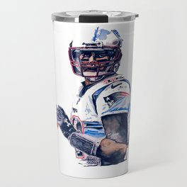"""GOAT"" featuring Legend Tom Brady Travel Mug"
