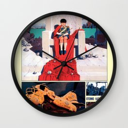 Manga 05 Wall Clock
