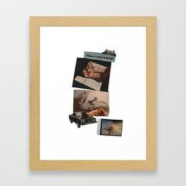 The American Dream Framed Art Print