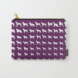 All Dogs (Plum) Carry-All Pouch