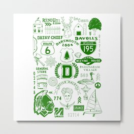 Dartmouth Massachusetts Print Metal Print