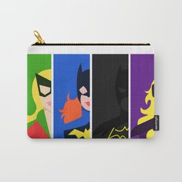 Batgirl Through The Ages Carry-All Pouch