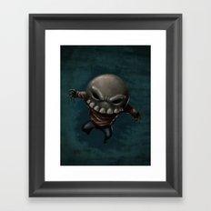Skeleton Krueger Framed Art Print