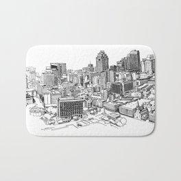 San Antonio skyline Bath Mat