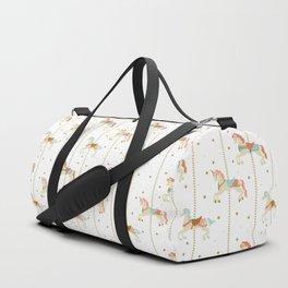 Carousel Horses Duffle Bag