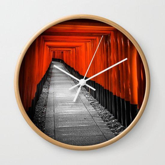 Fushimi Inari Shrine Wall Clock