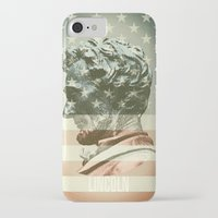 lincoln iPhone & iPod Cases featuring Lincoln by Gusvili