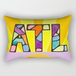Atlanta Sunburst Rectangular Pillow