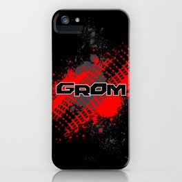 GROM, Red iPhone Case