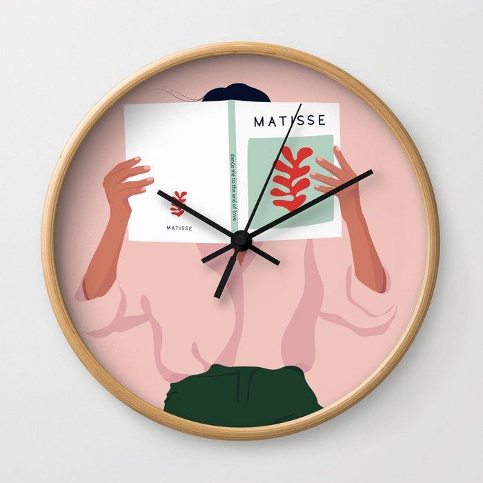 Art addicted Wall Clock