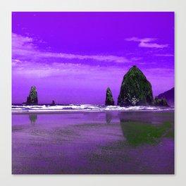 Oregon Coast Abstract Canvas Print