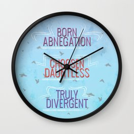 Truly Divergent Wall Clock