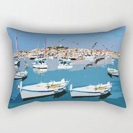 Beautiful Italian river Rectangular Pillow