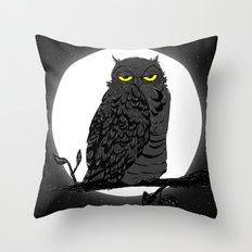 Night Owl V. 2 Throw Pillow
