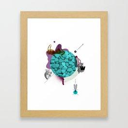 Mental Note #2 Framed Art Print