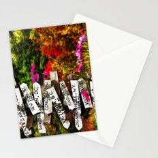 Signpost in the Fall Stationery Cards