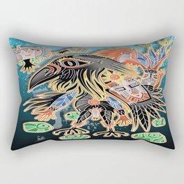 crow for gerry Rectangular Pillow