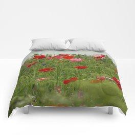First World War Poppies Comforters