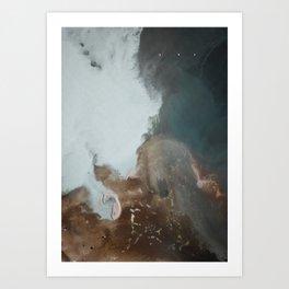 Mixing Waters Art Print